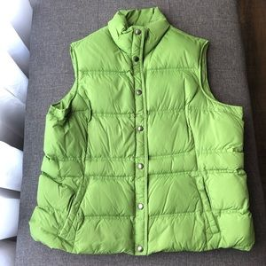 Lands End XL down vest
